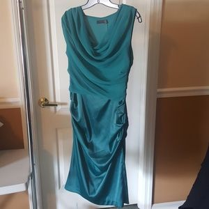 Size 10 The Limited Teal Dress